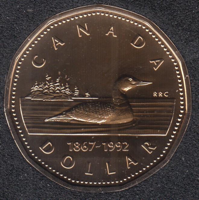 1992 - 1867 - NBU - Canada Huard Dollar
