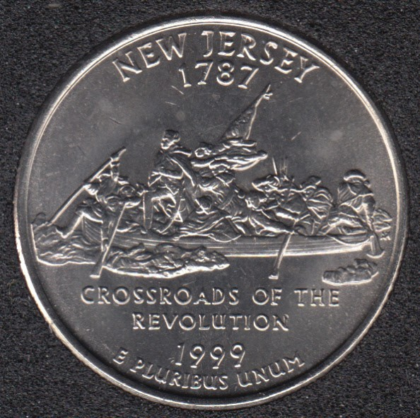 1999 D - New Jersey - 25 Cents