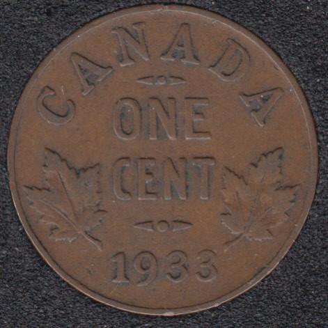 1933 - Canada Cent