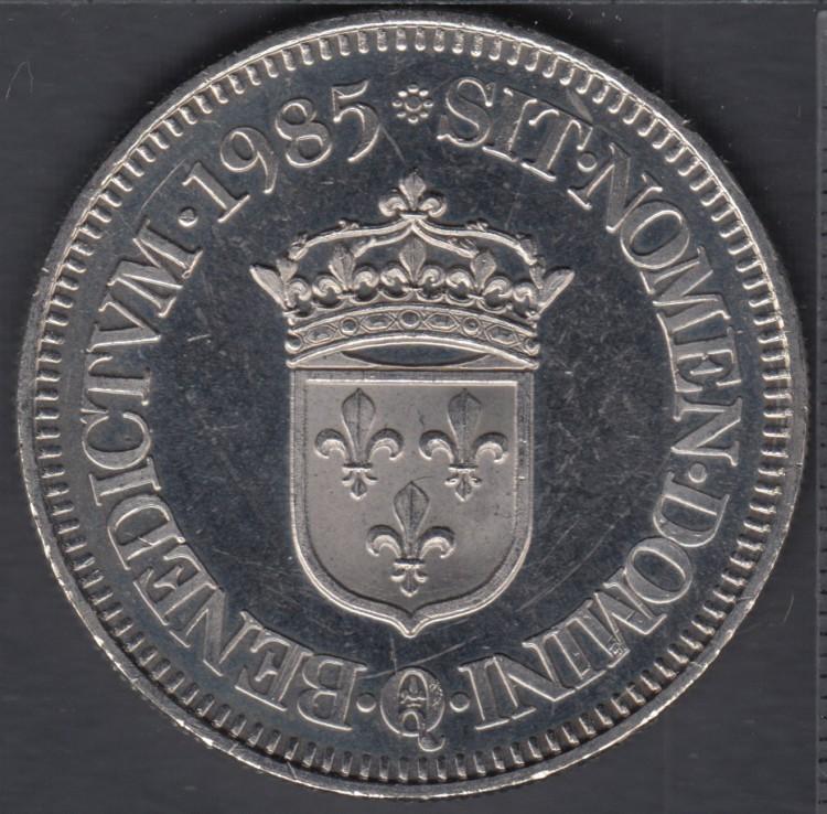 Quebec - Epicerie J.A. Moisan - 1985 - Valeur 1 Ecu au Magasin