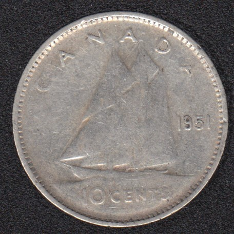 1951 - Canada 10 Cents