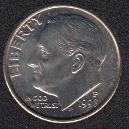 1998 P - Roosevelt - B.Unc - 10 Cents