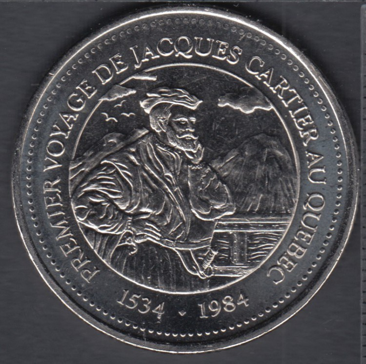Quebec - Epicerie J.A. Moisan - 1984 - 1534 - Premier Voyage de Jacques Cartier - Valeur 30 Sous au Magasin