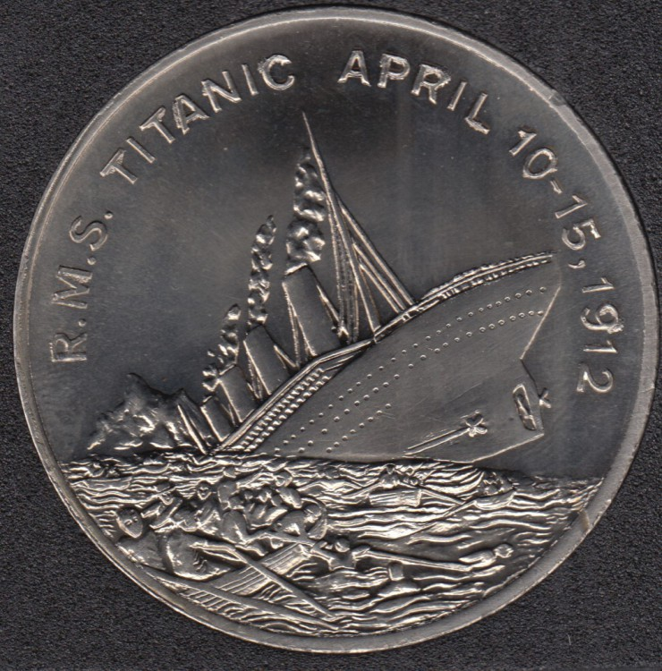 1998 - 5 Dollars - Titanic - Somaliland