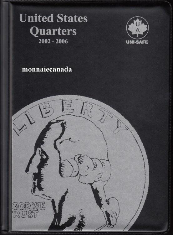 US Coins Album 25 Cents - 2002-2006