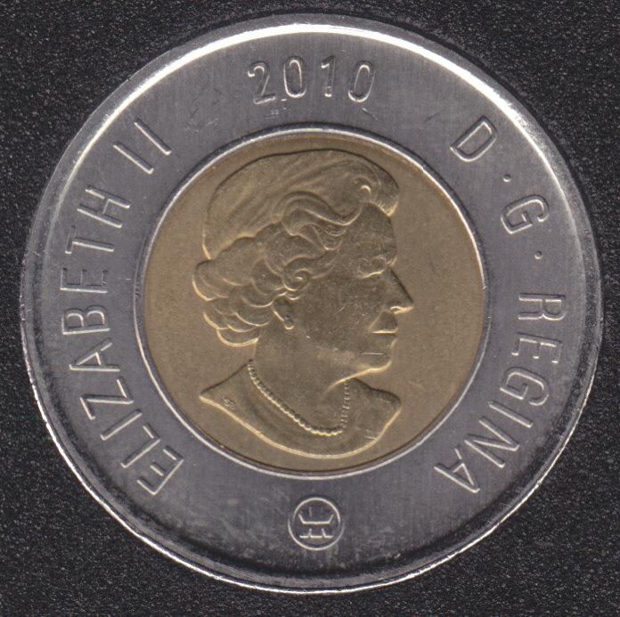 2010 - B.Unc - Canada 2 Dollars