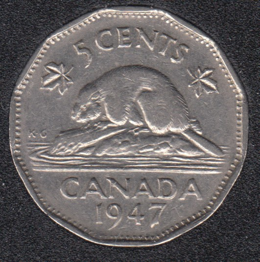 1947 - Canada 5 Cents