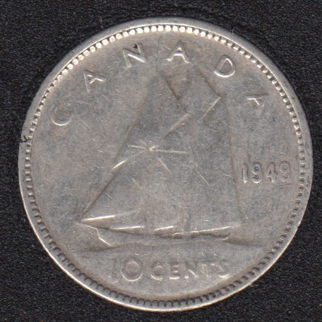 1949 - Canada 10 Cents
