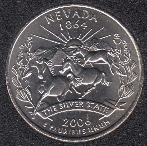 2006 P - Nevada - 25 Cents