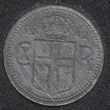 1942 - 10 Aurar - Unc - Iceland