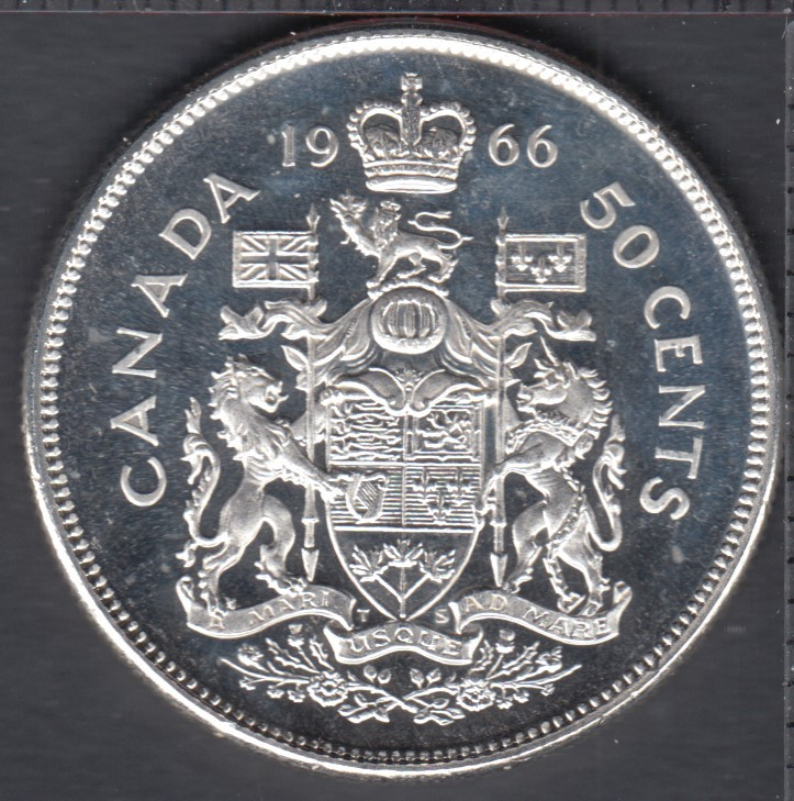 1966 - Proof Like - Canada 50 Cents