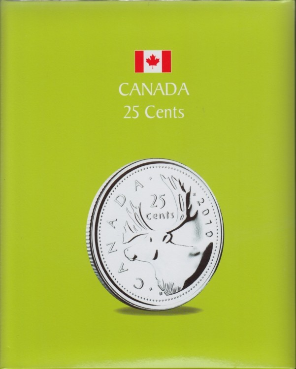 KASKADE Canadian Coin Albums - 25 Cents