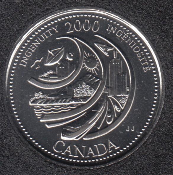 2000 - #2 NBU - Ingéniosité - Canada 25 Cents