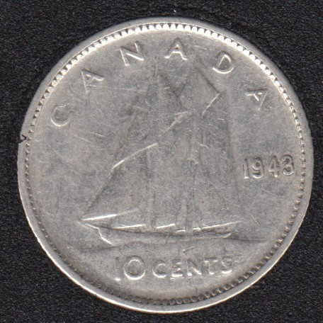 1943 - Canada 10 Cents