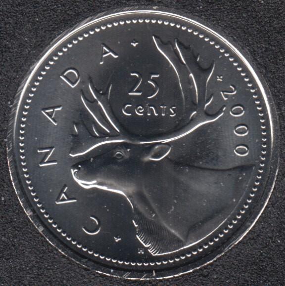 2000 W - NBU - Canada 25 Cents