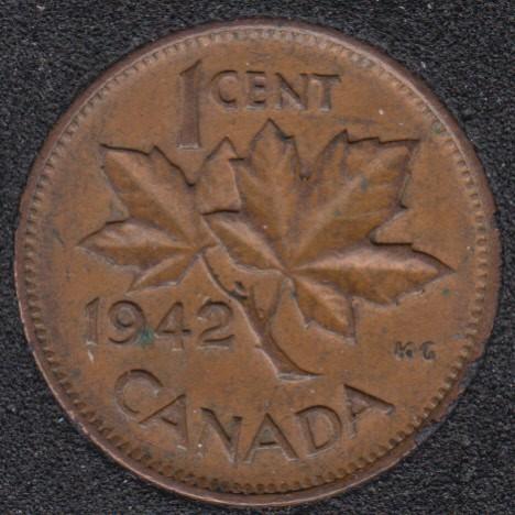 1942 - Canada Cent
