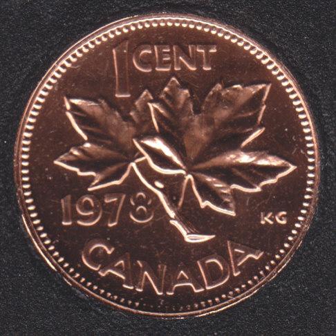 1978 - NBU - Canada Cent
