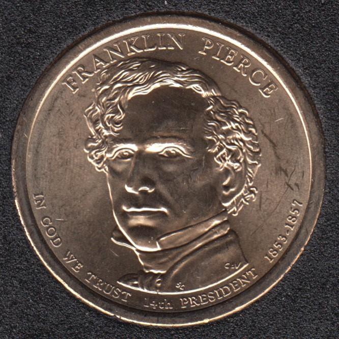 2010 D - F. Pierce - 1$