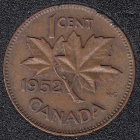 1952 - Canada Cent