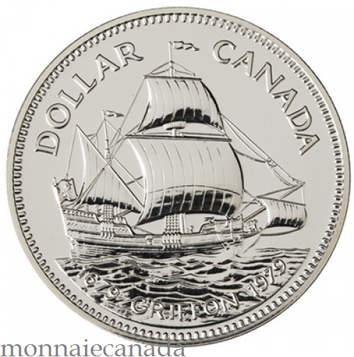 1979 Silver Dollar Specimen Canada Coins