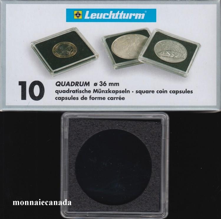 Capsules QUADRUM 36 MM