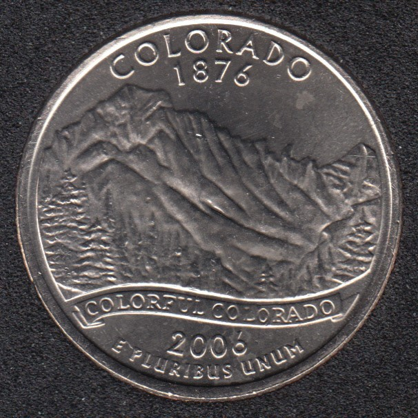 2006 D - B.Unc - Colorado - 25 Cents
