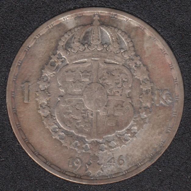 1946 TS - 1 Krona - Suede