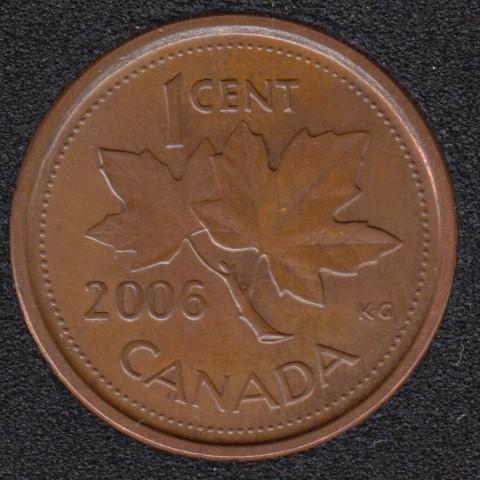 2006 P - Unc - Canada Cent