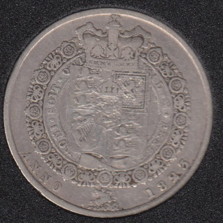 1823 - Half Crown - Grande Bretagne