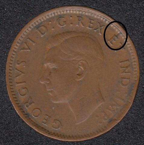1945 - Break E to Rim - Canada Cent