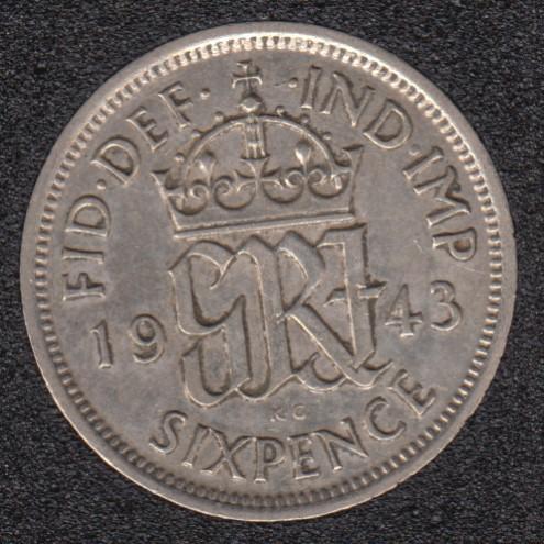 1943 - 6 Pence - Great Britain