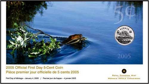 2005 - 5 Cents - Premier Jour