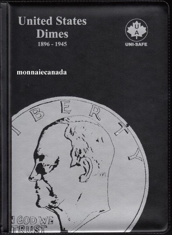 US Coins Album 10 Cents - 1896-1945