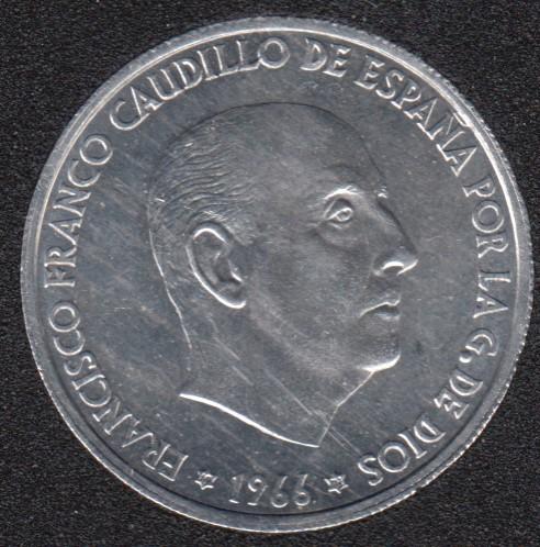 1966 (73) - 50 Centimos - Espagne