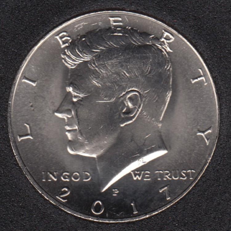 2017 P - 50 Cents