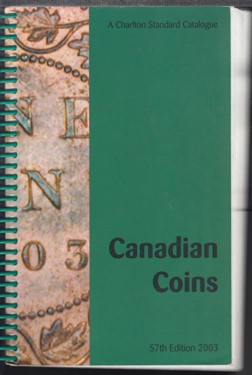 2003 - Charlton - Standard Catalogue of Canadian Coins - Use