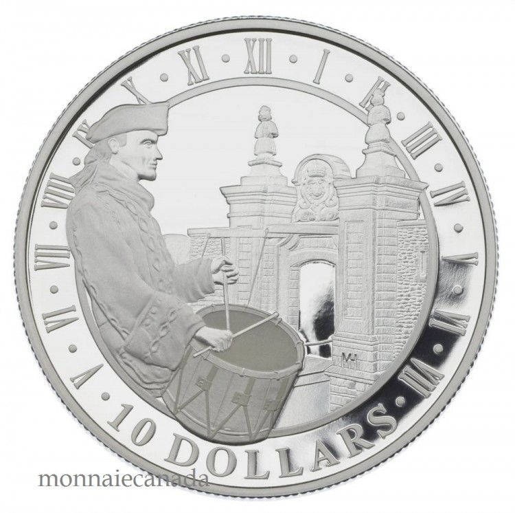 2006 $10 Fine Silver Coin - Fortress of Louisbourg - TAX Exempt