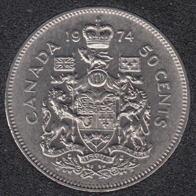 1974 - B.Unc - Canada 50 Cents