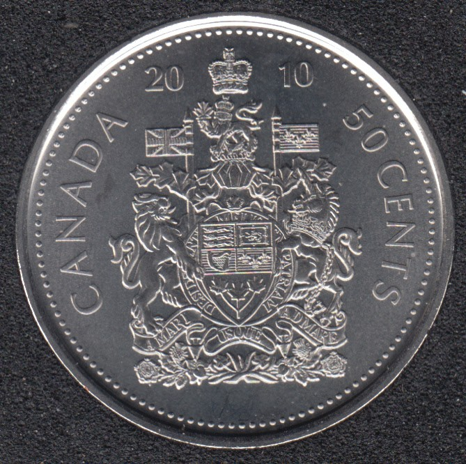 2010 - B.Unc - Canada 50 Cents
