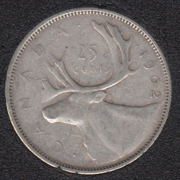 1962 - Canada 25 Cents