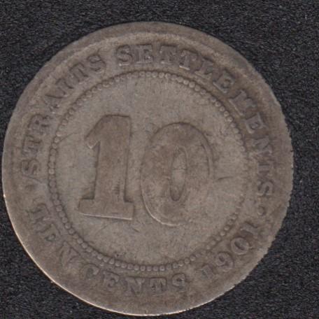 1901 - 10 Cents - Straits Settlements