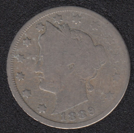 1889 - Liberty Head - 5 Cents