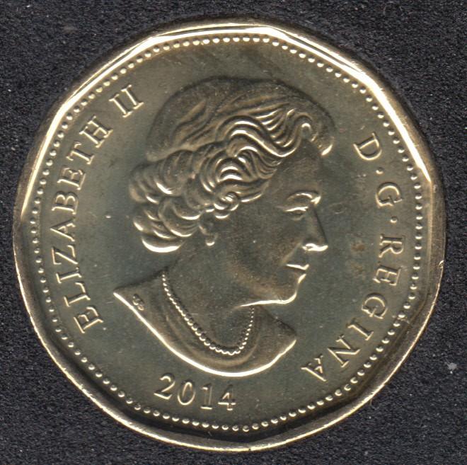 2014 - B.Unc - Canada Huard Dollar