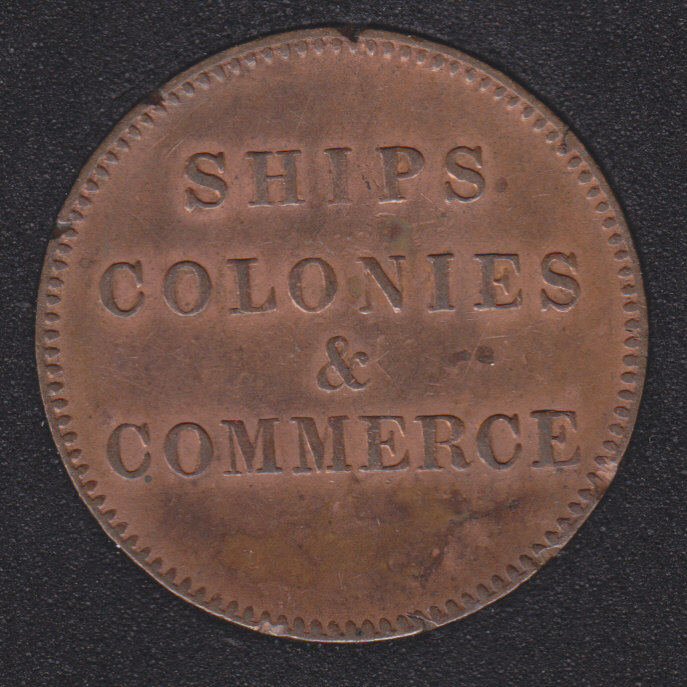 P.E.I. 1835 - Ship Colonies & Commerce - PE-10-31