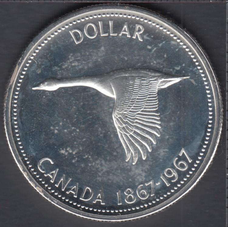 1967 - Proof Like - Cameo - Canada Dollar
