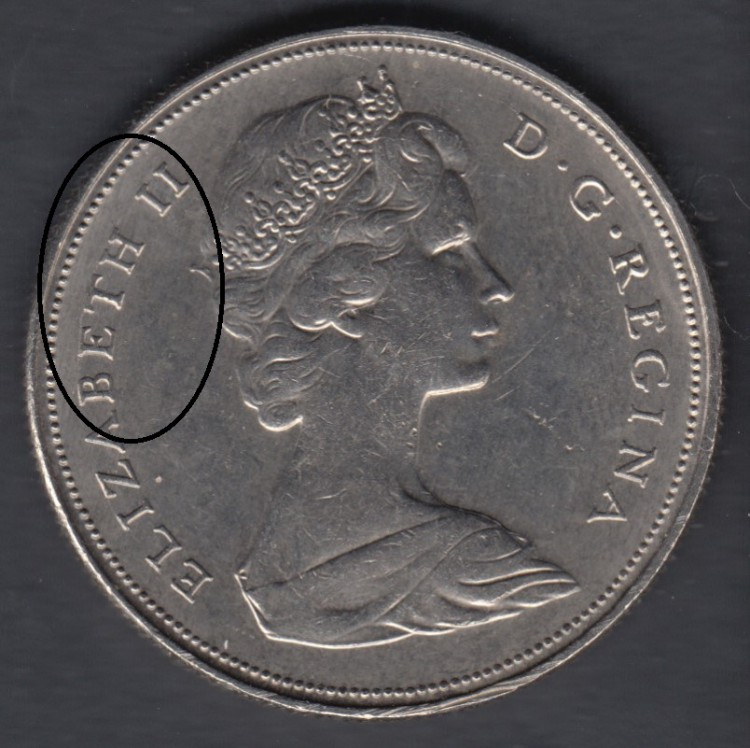 1968 - Die Break - BETH II Attaché -  - Nickel - Canada Dollar