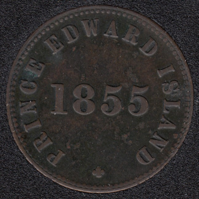 P.E.I. 1855 - Self Government and Free Trade - VF - PE-7B1