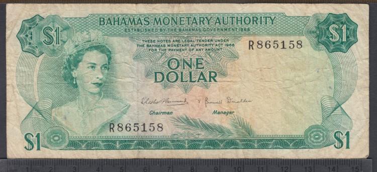 1968 - 1 Dollar - Bahamas