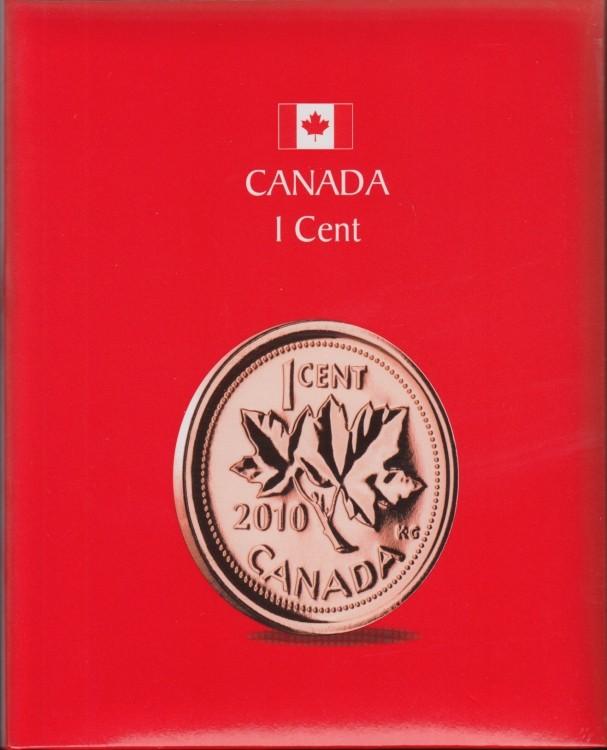 KASKADE album pour pièces de monnaie canadiennes - 1 Cent