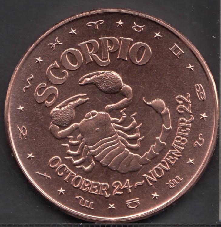 Scorpio - 1 oz .999 Fine Copper